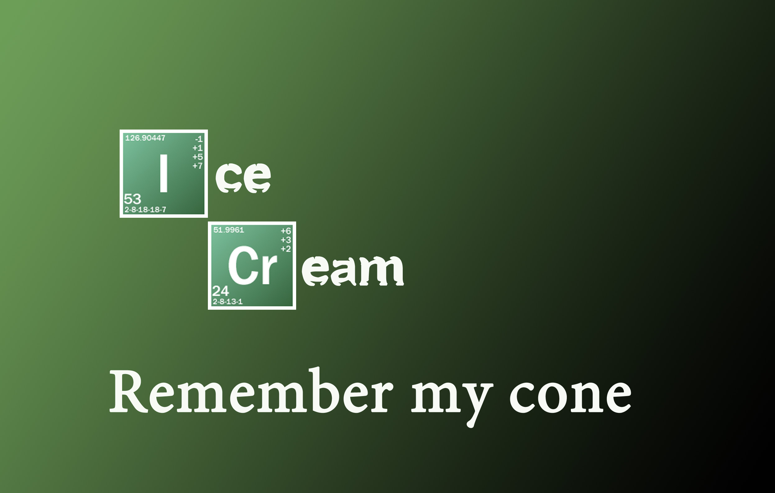 Breaking Bad themed